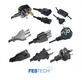 Festech Power Cords and Plugs